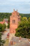 Kirchturm in Demerthin